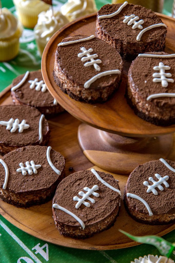 Brown Bottom Rice Krispie Football Treats - Real Food by Dad