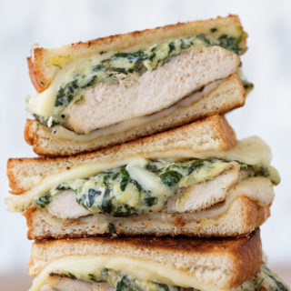 Spinach and Artichoke Grilled Chicken Melt Real Food by Dad