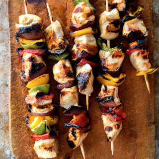 Grilled Chicken Skewers Real Food by Dad