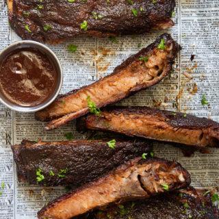 BBQ Ribs via Real Food by Dad