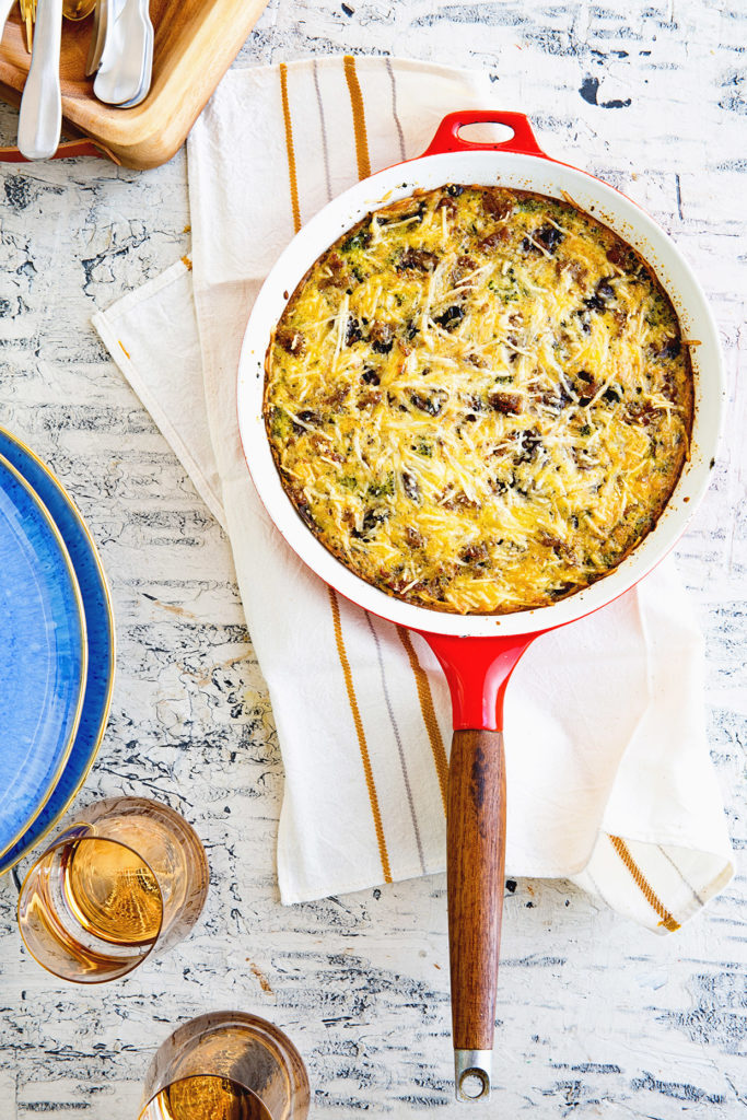 Easy Breakfast Frittata - Real Food by Dad
