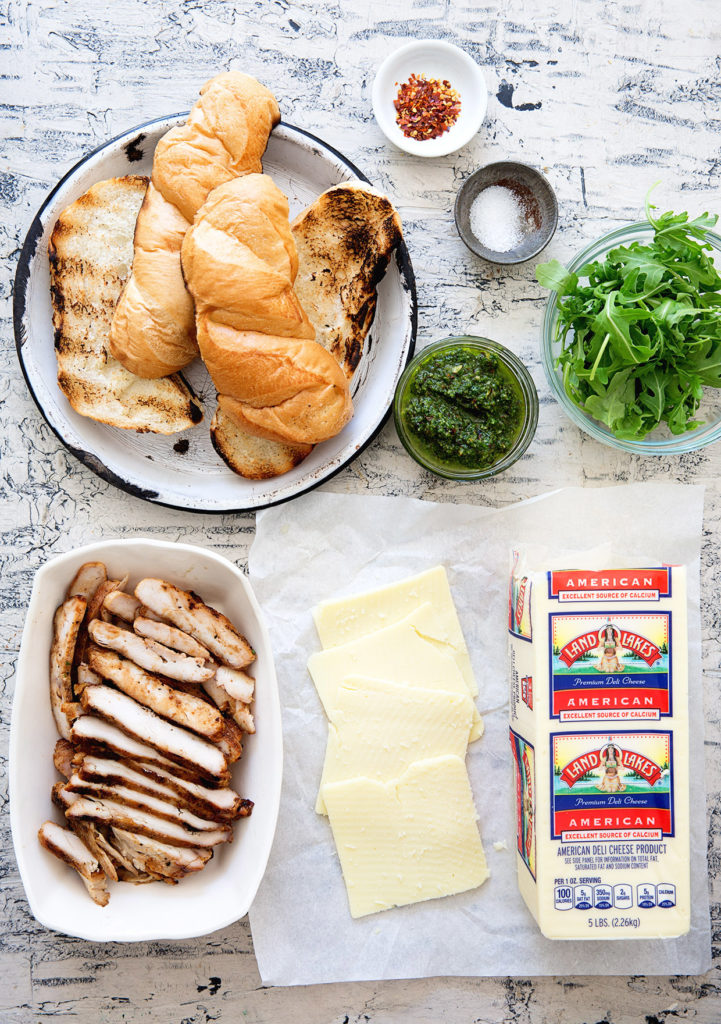 Grilled Chicken and Pesto Sub Assembly Real Food by Dad