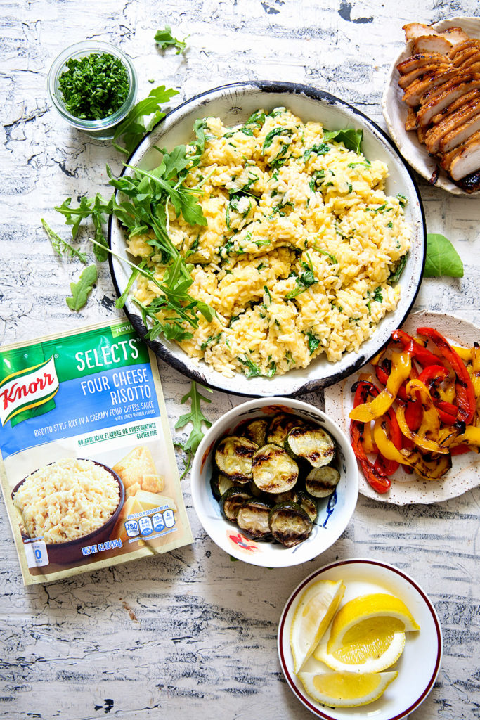 Grilled Chicken and Veggie Risotto - Real Food by Dad
