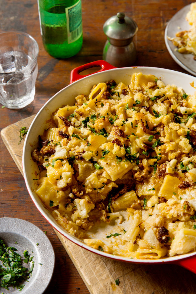 Cauliflower Ziti Bakers Royale