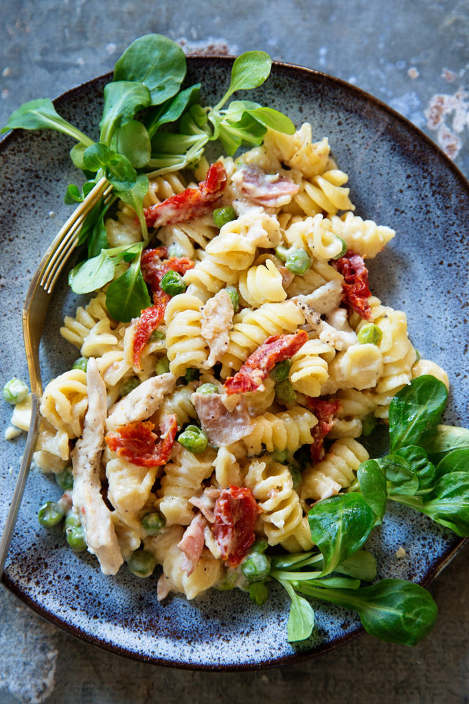 Meat Lovers Pasta via Real Food by Dad