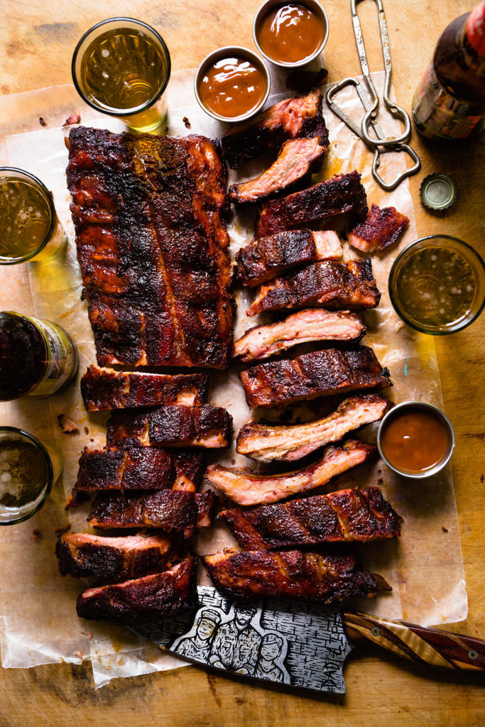 Baby Back Ribs with Cola Barbecue Sauce