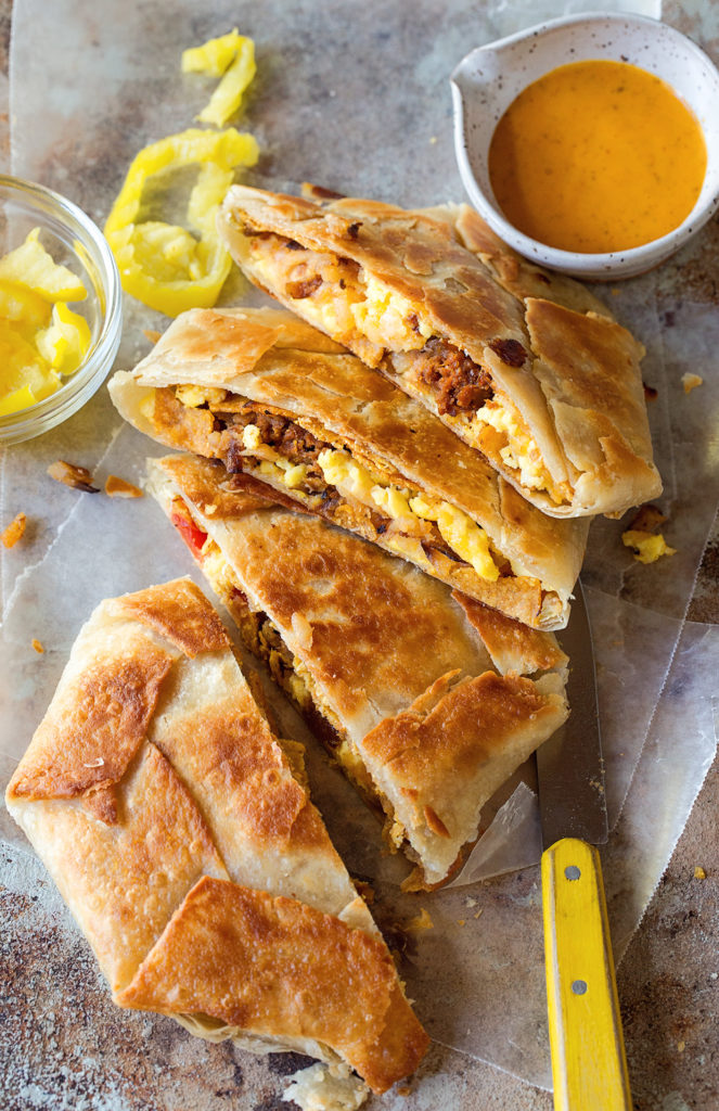 Breakfast Crunchwrap Supreme