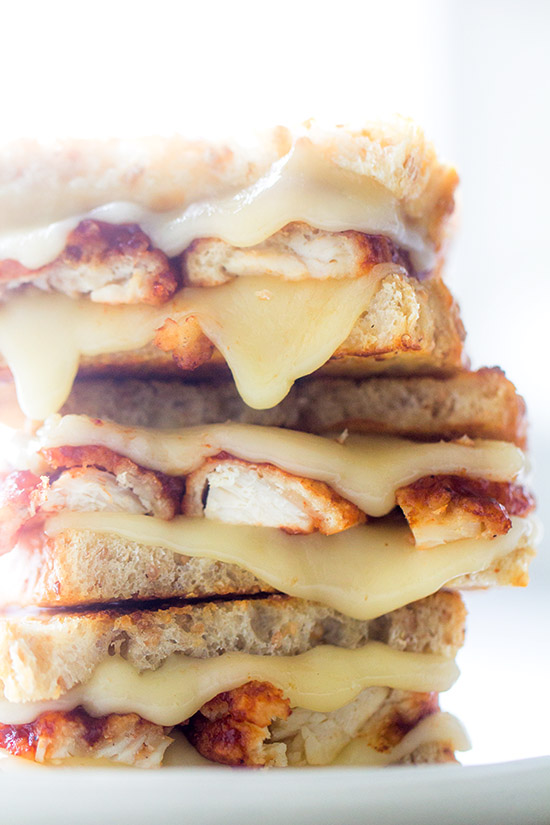 Buffalo Chicken Wing Melt