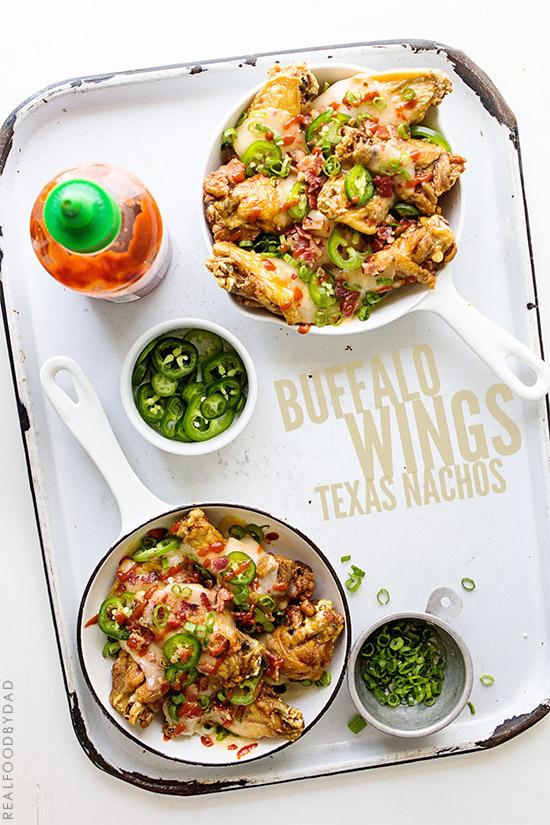 Buffalo Wings Texas Nachos
