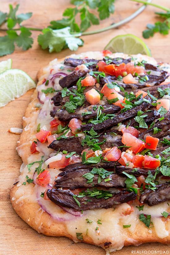 Carne Asada Pizza