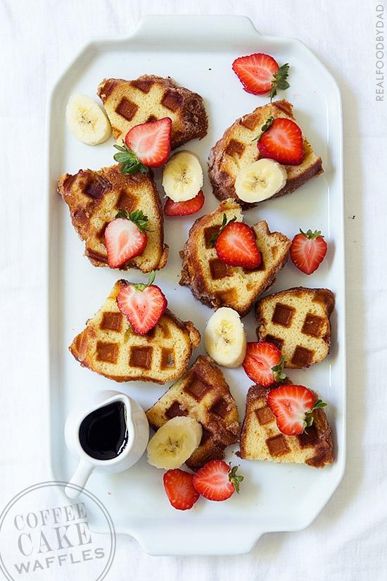 Coffee Cake Waffles