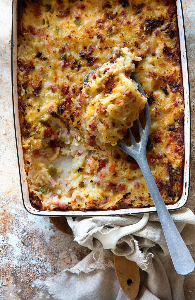 Easter Hash Brown Casserole
