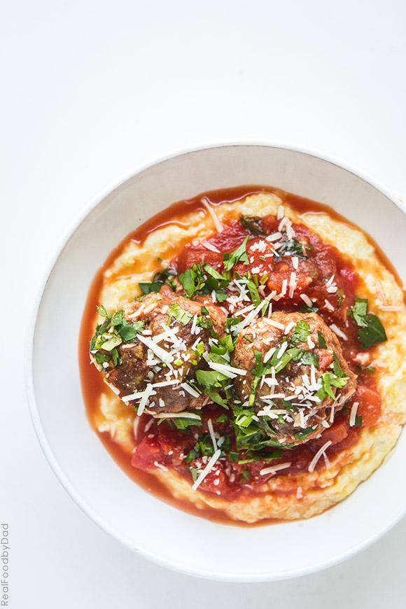 Easy Tomato Baked Meatballs