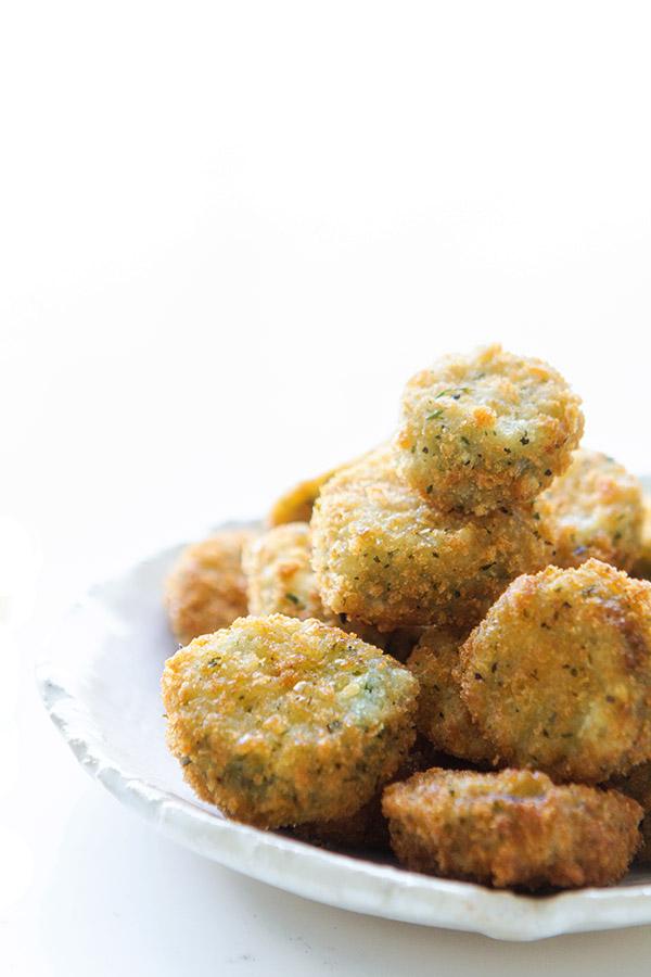 Green Pepper Fried Zucchini
