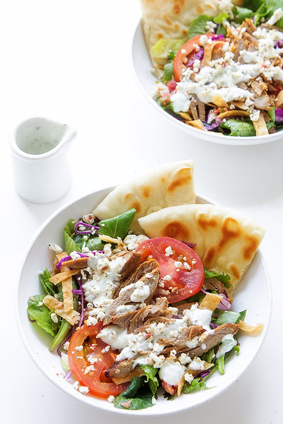 Grilled Lamb Salad Bowls