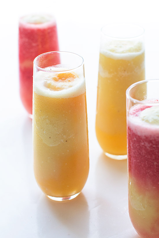 Layered Tropical Smoothies