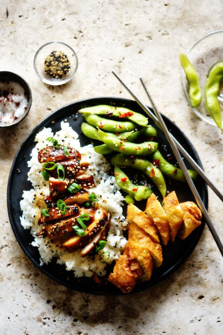 Oven-Broiled Teriyaki Chicken