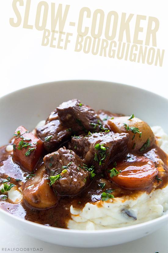 Slow-Cooker Beef Burgundy