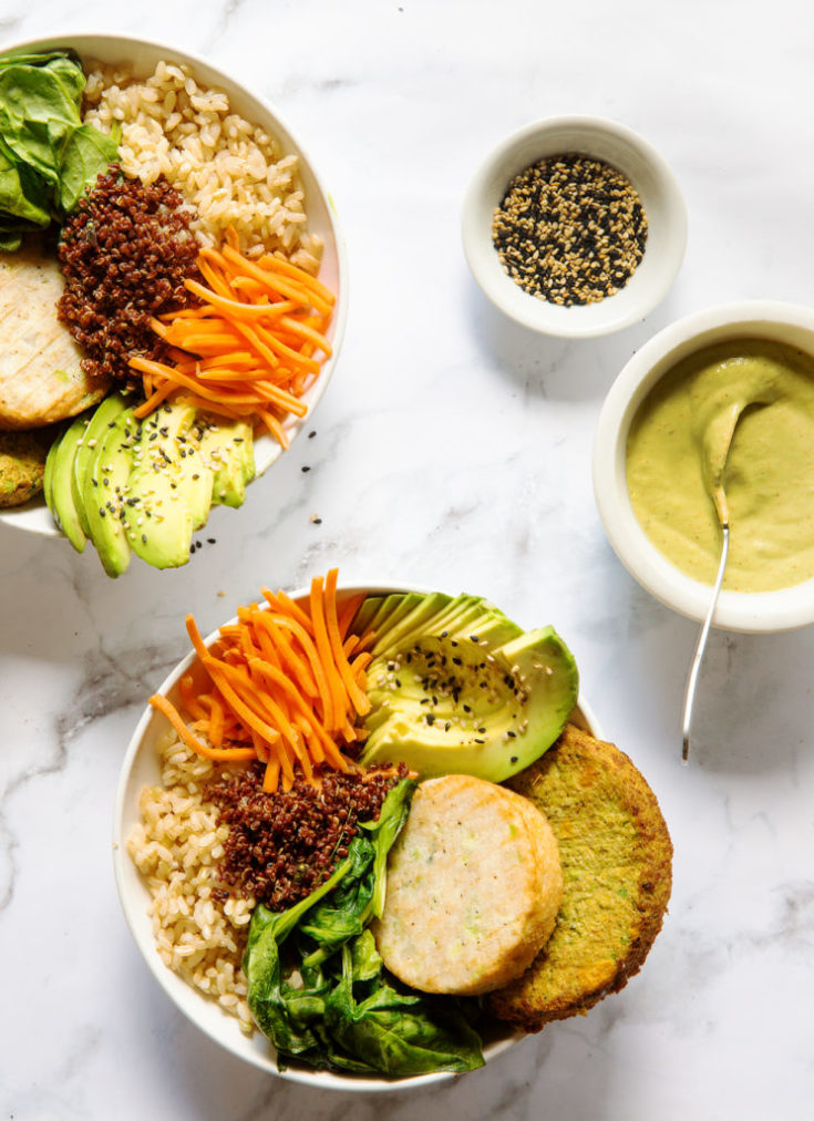 Vegetarian Buddha Bowls