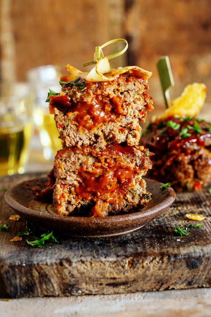 Chili-stuffed Mini MeatLoaf
