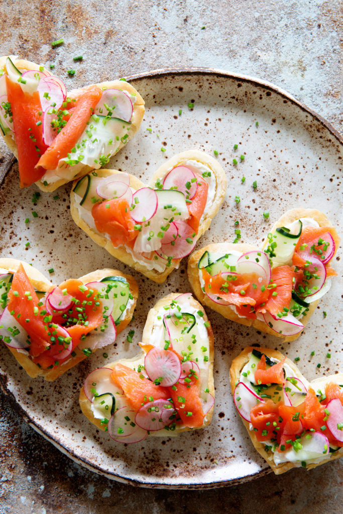 Puff Pastry and Lox