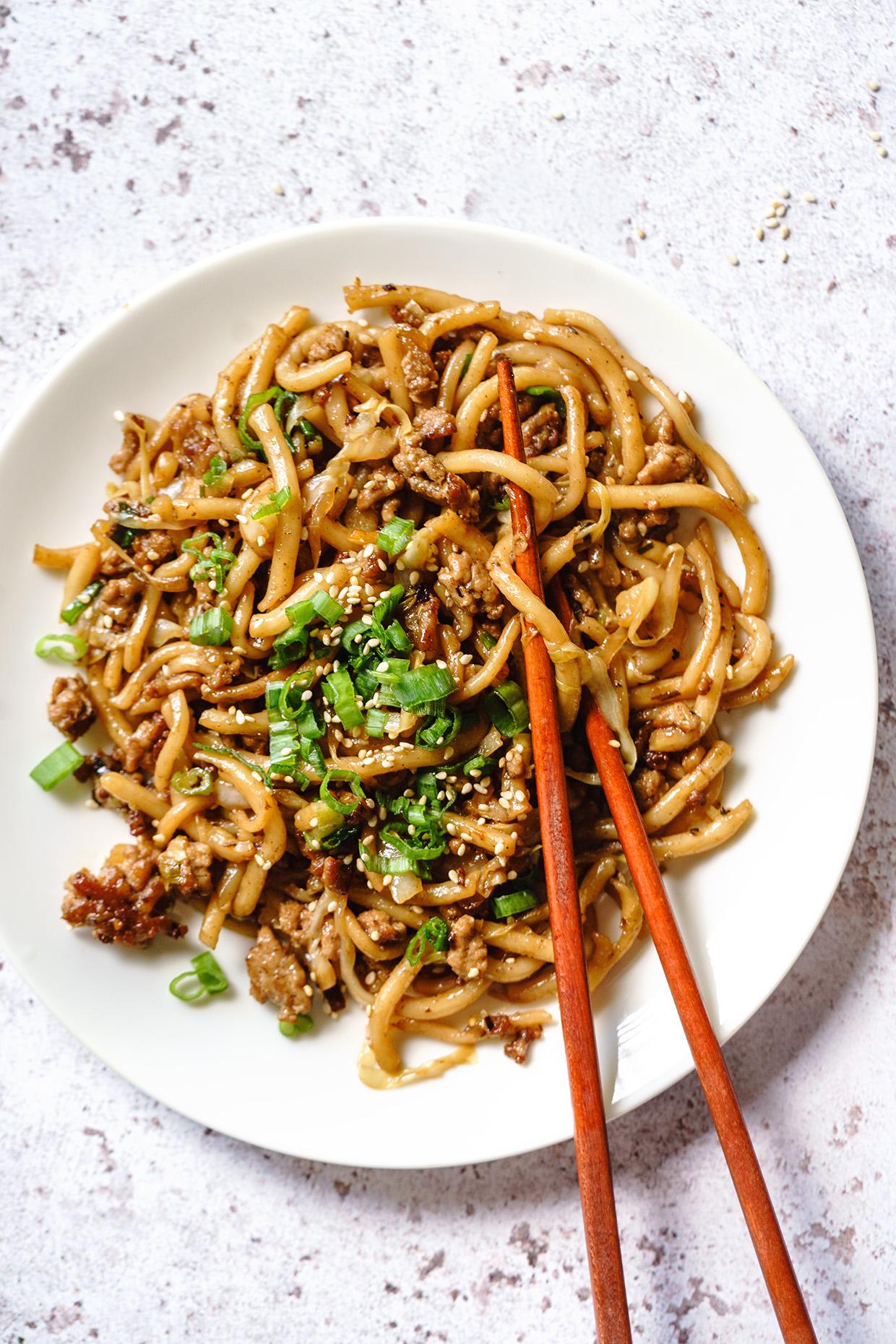 Quick Stir Fry Noodle