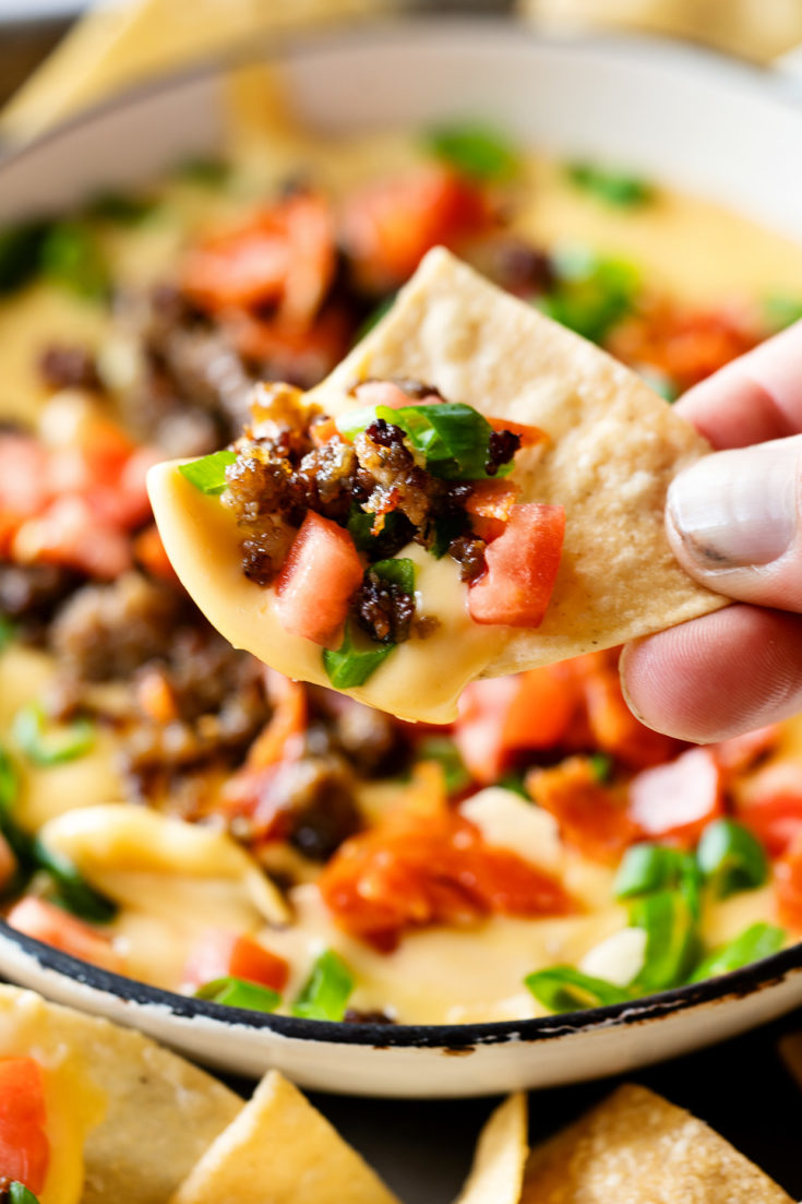 Meat Lovers Queso