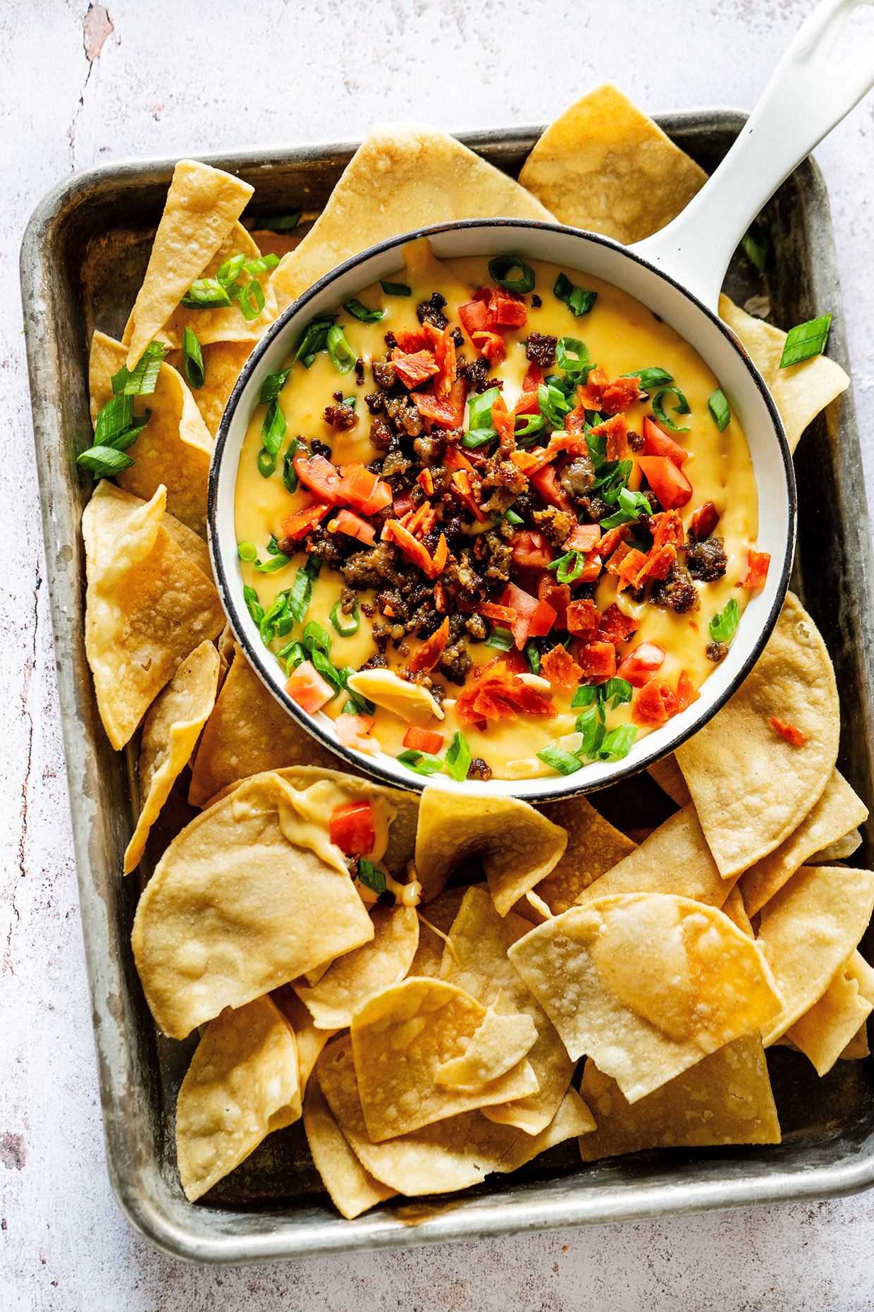 Meat Lovers Queso Dip