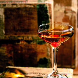 How to make a classic Manhattan cocktail.