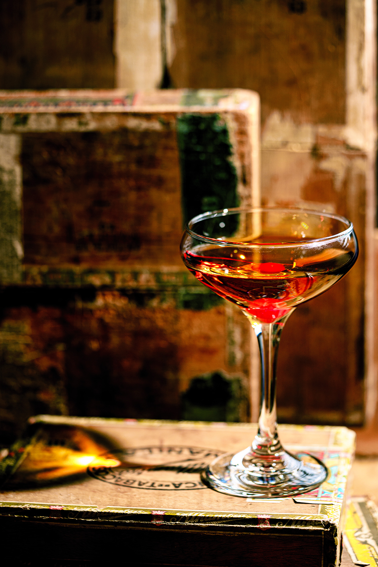 Classic Manhattan Cocktail Recipe Real Food By Dad