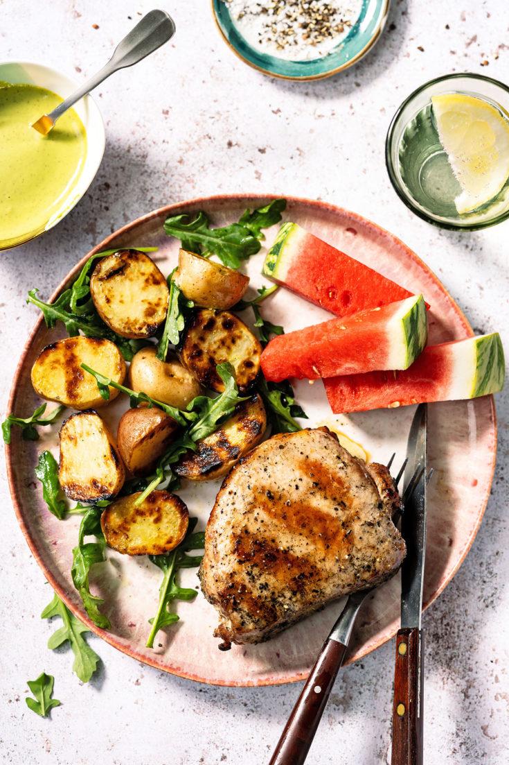 Grilled Chophouse Ribeye Steak